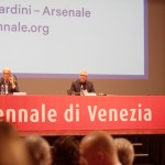 Pressekonferenz mit dem Kurator der Biennale 2012, David Chipperfield; Foto: David Kasparek