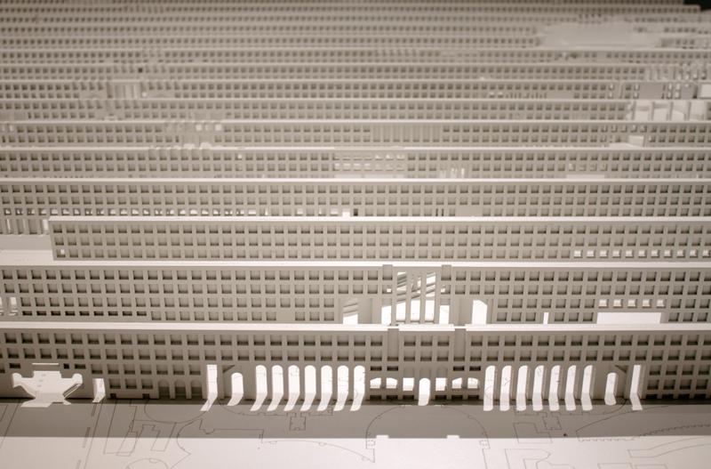 Zentralpavillon in den Giardini, Peter Eisenman, Foto: David Kasparek