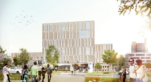 Henning Larsen Architects, ZSW Center for Solar Energy and Hydrogen Research, Stuttgart