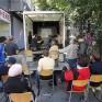 Öffentliche Diskussion auf dem Platz. Foto: Page+Hertzsch