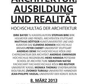 ausbildung und realität bda der architekt