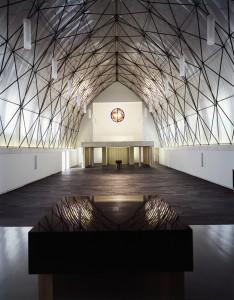 Pfeifer Kuhn Architekten BDA, St. Augustinus, Heilbronn 2004 – 2008; Foto: Ruedi Walti