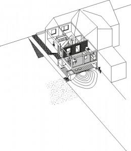 AMUNT, Schreber, strukturelle und energetische Sanierung, Aachen 2011; Abb: AMUNT