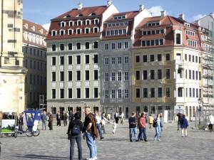Quartier II am Dresdner Neumarkt; Foto: Wolfgang Kil