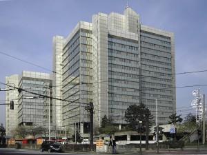 Heinle, Wischer& Partner, Stadthaus, Bonn 1973–1978; Foto: Qualle