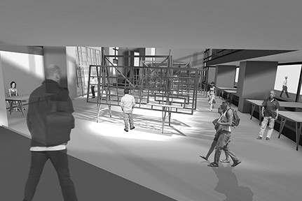 Ausstellungsarchitektur, Rendering, Abb.: IMD