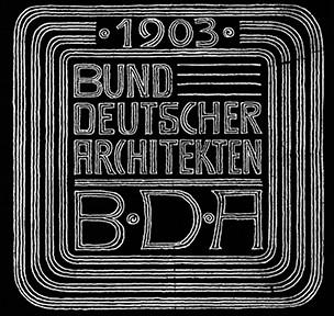 1903-2013_110 Jahre BDA