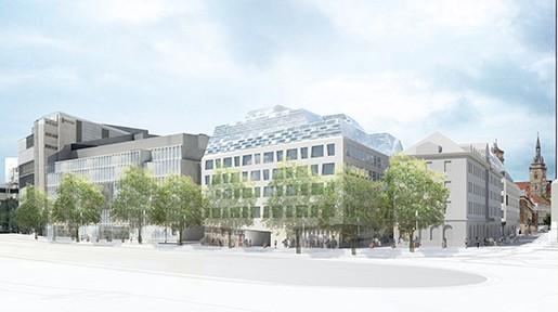 Behnisch Architekten_Dorotheen Quartier_Stuttgart 2013ff_Abb: Behnisch Architekten