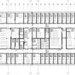 bof architekten, Antarktisstation Bharati, Antarktis 2011–2012, Grundriss OG