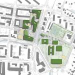bof architekten, Bildungszentrum Tor zur Welt, Hamburg 2008–2013, Lageplan
