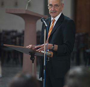 Wolfgang Pehnt, Foto: Till Bdde