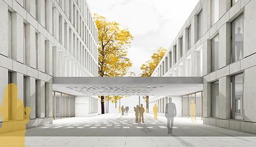 Titus Bernhard Architekten_Dach Staatsanwaltschaft Ulm