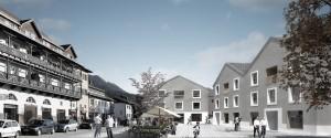 nbundm* architekten, Bürgerhaus, Wettbewerb, Marquartstein 2011