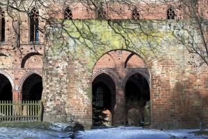 Kloster Chorin, Chorin ab 1266; Foto: Arno Lederer