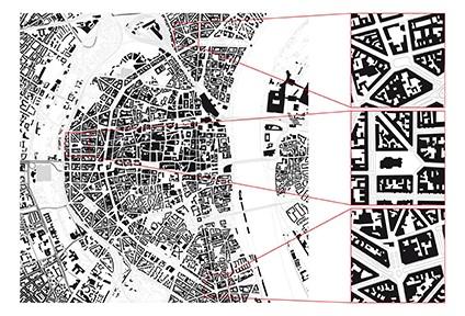 Auswahl von African-Time-Gebieten in Köln, Abb.: Daniel Hubert