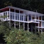 Shigeru Ban, House of Double-Roof, Yamanashi, Japan, 1993, Foto: Hiroyuki Hirai