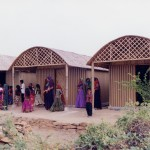 Shigeru Ban, Papier-Haus, Bhuj, Indien 2001, Foto: Kartikeya Shodhan