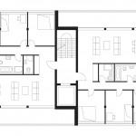 zanderrotharchitekten, ad41, Wohnungsbau, Berlin 2010–2013, Grundriss