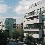 zanderrotharchitekten, sc11, 2006–2008 (rechts) und RuSc, 2003–2007 (links), Bauherrengemeinschaften, Berlin, Foto: Andrea Kroth