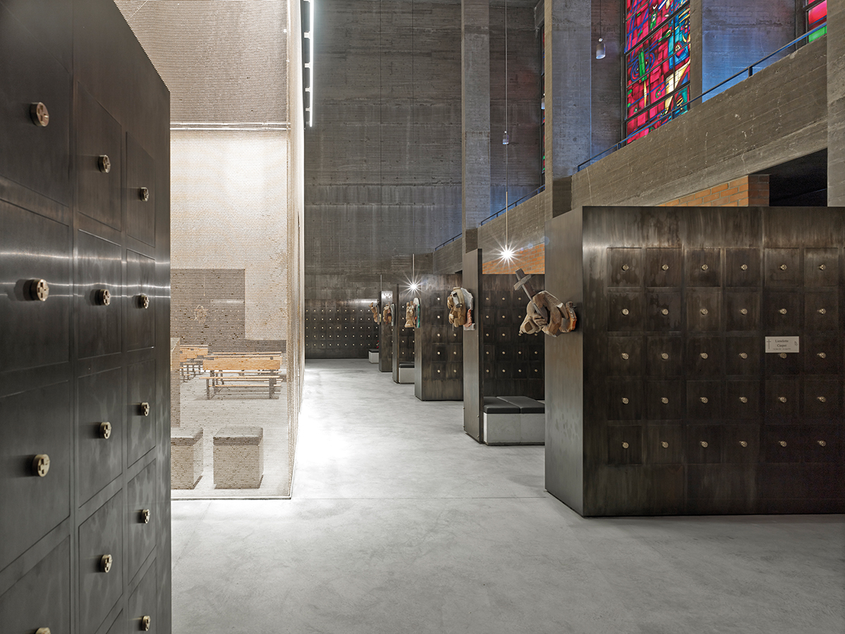 Kissler+Effgen Architekten BDA, Grabeskirche St. Bartholomäus, Köln 2010–2014, Foto: Dietmar Strauß