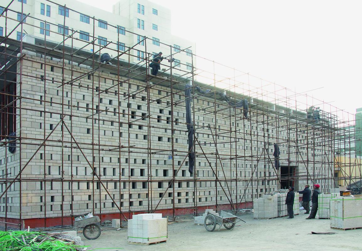 KNOWSPACE, CHEGS-Campus, Mitarbeiterkantine und Freizeitraum, Baoding, China 2012–2014, Foto: KNOWSPACE