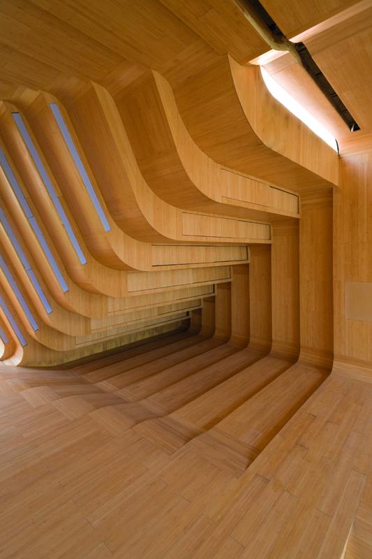 KNOWSPACE, Multimedia-Pavillon, Jinhua Architecture Park, Jinhua, China 2004–2007, Foto: Iwan Baan