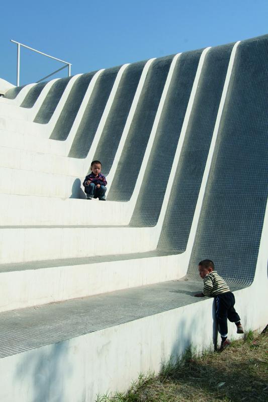 KNOWSPACE, Multimedia-Pavillon, Jinhua Architecture Park, Jinhua, China 2004–2007, Foto: KNOWSPACE