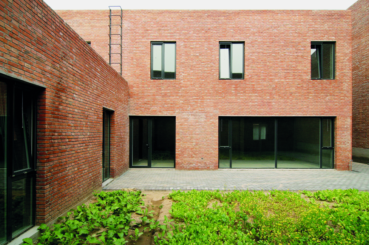 KNOWSPACE, Atelier-Häuser, Songzhuang, China 2011 – 2013, Foto: KNOWSPACE