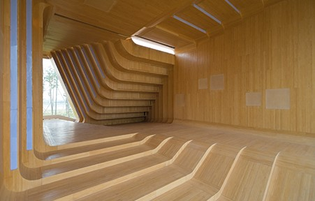 KNOWSPACE, Multimedia-Pavillon, Jinhua Architecture Park, Jinhua, China 2004 – 2007, Foto: Iwan Baan