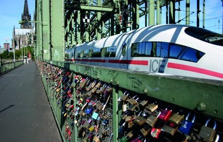 Hohenzollernbrücke Köln, 15.07.2010
