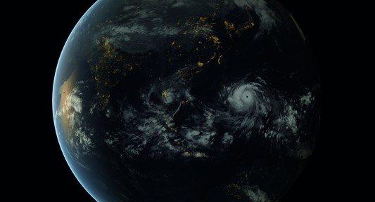des 14-3_Typhoon Haiyan approaching the Philippines_13-00 UTC 07-11-2013_Foto EUMETSAT