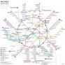 moscow-metro-subway-map,  c Jug Cerovic