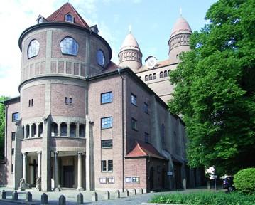 Theodor Fischer: Ulm, Pauluskirche, 1908-1910, Foto: Density via Wikimedia