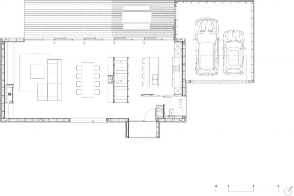 Nic 14 6 geitner architekten haus g grundriss eg bda for Japanisches haus grundriss