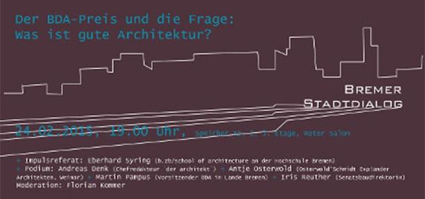 BDA Bremen_Bremer Stadtdialog_20150224