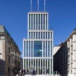 1. Preis: Johann von Mansberg Architekten und  Hörter + Trautmann Architekten, Handelskammer InnovationsCampus, Hamburg 2014, Foto: Daniel Sumesgutner