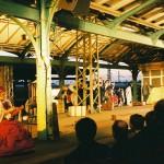 Theater auf dem Bahnsteig im Kulturbahnhof Kassel, Foto: KulturBahnhof Kassel e.V.