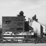 Arno Lederer mit Felix Schmitt, Haus Wullen, Gerlingen 1976, Foto: Arno Lederer