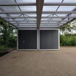 ANNABAU, Pavillons im Stadtpark Norderstedt, 2013-2014, Foto: ANNABAU