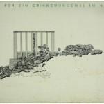 Oswald Haerdtl, Erinnerungsmal am Nussberg, Wien, 1939, Abb.: Architekturzentrum Wien, Sammlung