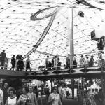 Frei Otto und Rolf Gutbrod, Deutscher Expo-Pavillon, Montreal 1967, Foto: Burkhardt