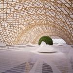 Frei Otto und Shigeru Ban, Japanischer Expo-Pavilion, Hannover 2000, Foto: Hiroyuki Hirai