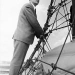 Frei Otto auf der Expo 1967 in Montreal, Foto: von Schlaich