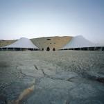 Frei Otto, Diplomatic Club, Riad, Saudi Arabien 1980, Foto: Atelier Frei Otto Warmbronn