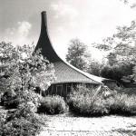 Frei Otto, Institut für Leichte Flächentragwerke, Stuttgart-Vaihingen 1967, Foto: Atelier Frei Otto Warmbronn