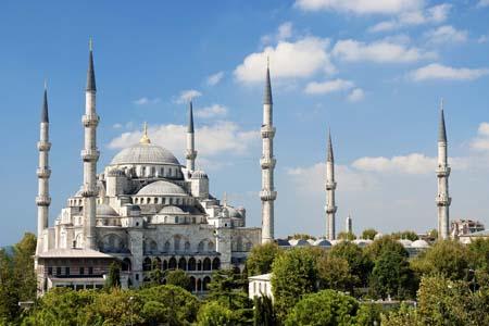 Istanbul, Architekturreiseführer, DOM publishers, Blaue Moschee, Foto: Canstockphoto (feferoni)