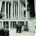 Josef Hoffmann, Oswald Haerdtl, Innenausstattung Opernball, Wien, 1939, Abb.: Architekturzentrum Wien, Sammlung