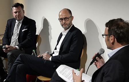 BDA Bayern_Perspektiven Wohnungsbau_Josef Schmid_Bruno Krucker_Frank Kaltenbach_Foto Volker Derlath