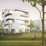 Steimle Architekten BDA, Wohnbebauung Rote Wand, Wettbewerb, Stuttgart 2014,  Abb.: Steimle Architekten