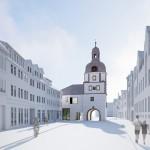 Steimle Architekten BDA, Wohnen am Klaustor, Waltershausen 2014-2016, Abb.: Steimle Architekten